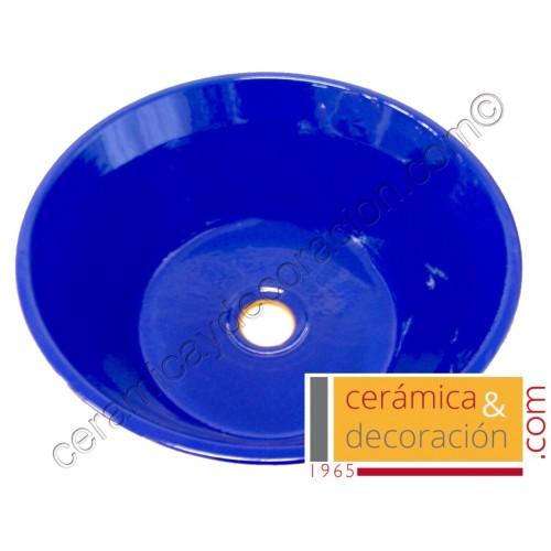 Lavabo lebrillo azul esfinge