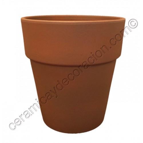 Vaso alto 18 cm Marrón oxido