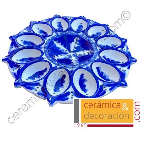 Huevera de cerámica