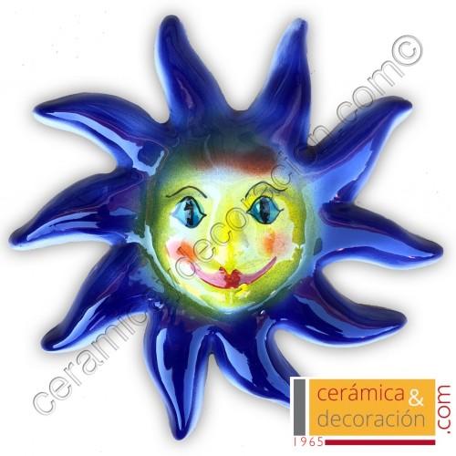 Sol 25 cm azul