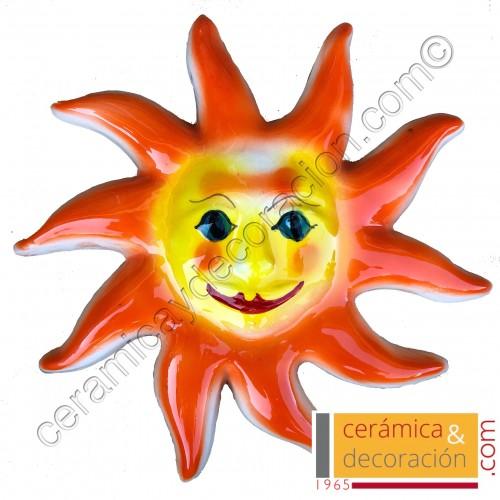 Sol 25 cm naranja