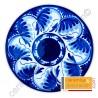 Plato andaluz azul 33 cm