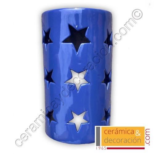 Aplique teja estrellas esmaltado