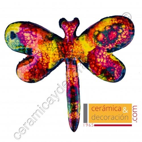 Libélula multicolor