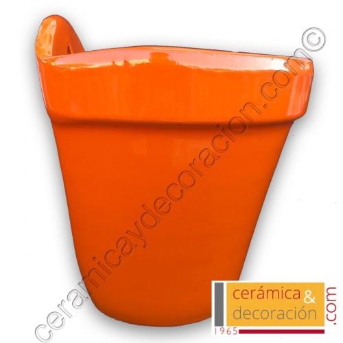 Maceta de colgar Naranja