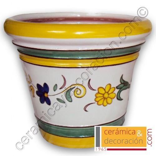 Maceta Jerez margarita amarilla