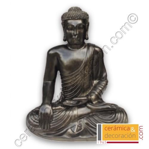 Buda pequeño negro/dorado