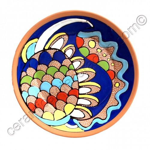 Plato de pared Colores
