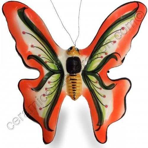 Mariposa especial naranja