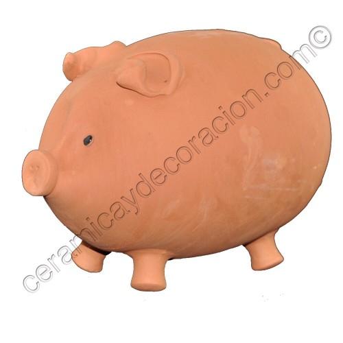 Hucha de cerdo grande 43 cm