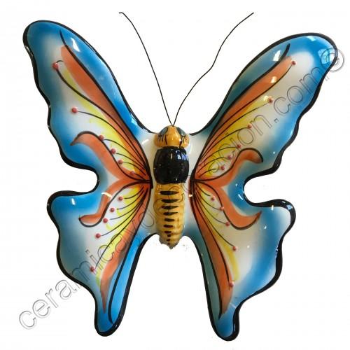 Mariposa especial celeste