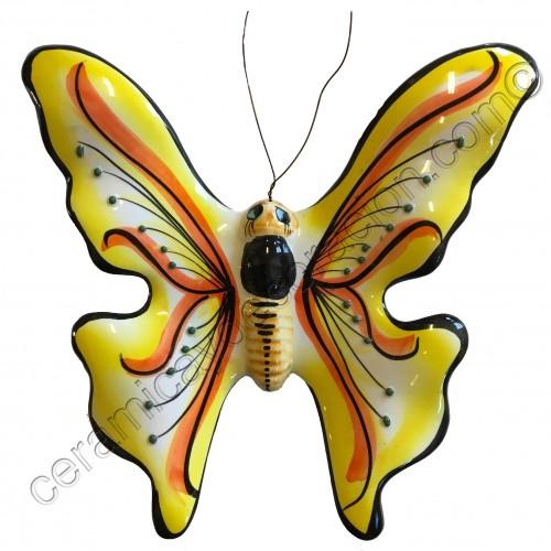 Mariposa especial amarilla
