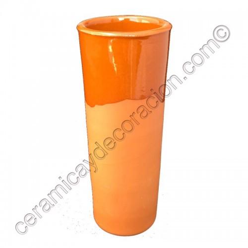 Vaso de tubo barro