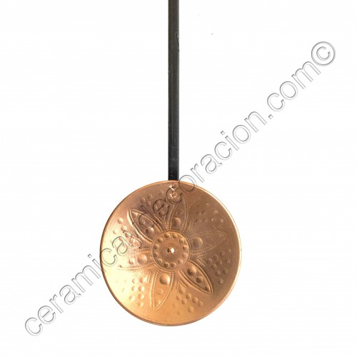 Espumadera de cobre 15 cm