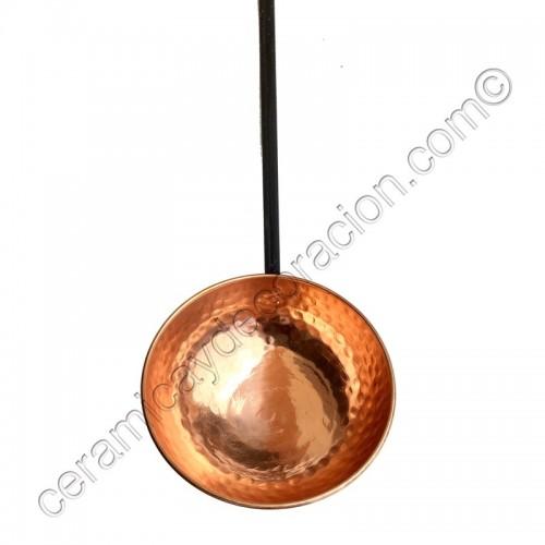 Cazo de cobre 12,5 cm