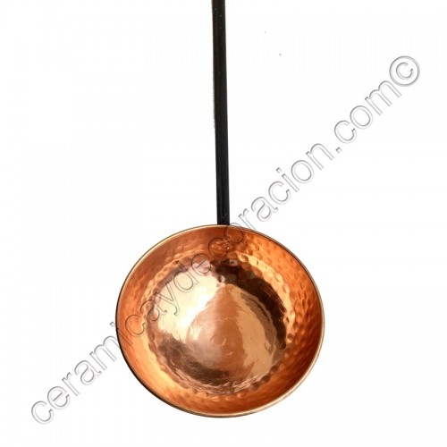 Cazo de cobre 15 cm