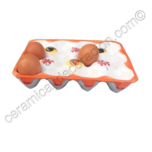 Huevera cartón doce huevos