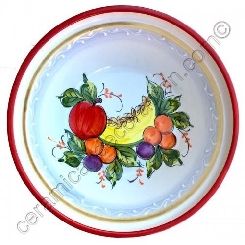 Lebrillo de cocina decorado