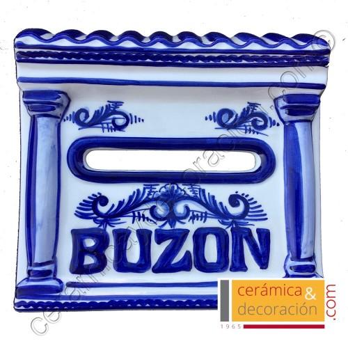 Buzon tejado azul