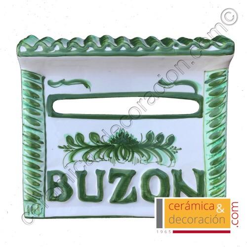 Buzon tejado verde