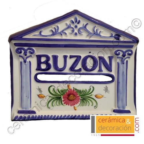 Buzon olimpo azul