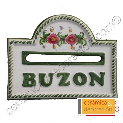 Buzon placa