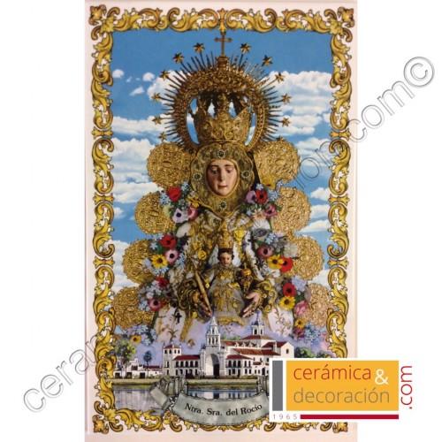 Virgen del Rocío con Ermita