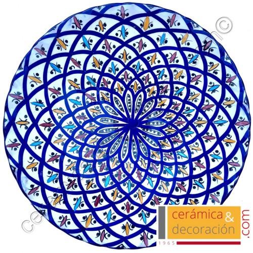 Plato Safí filo ondulado 35 cm