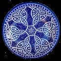 Platos de cerámica árabe